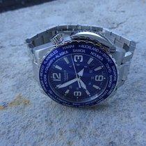 Vogard Timezoner Special Edition Stahl/Stahl Neu mit B&P