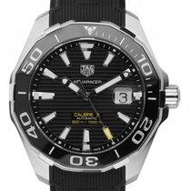 TAG Heuer Aquaracer Calibre 5 Stahl Keramik Automatik Armband...