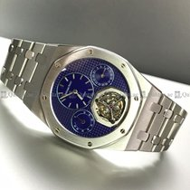 Audemars Piguet - Royal Oak Tourbillon Back Wound Yves Klein...