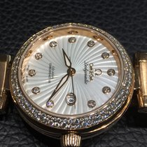 Omega De ville Ladymatic Co-Axial 34mm Red Gold