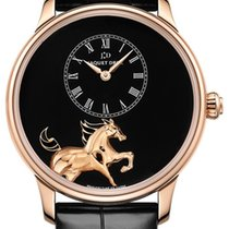 Jaquet-Droz LTD 88^NEW PETITE HEURE MINUTE LOW RELIEF HORSE...