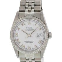 Rolex Men's Rolex Oyster Perpetual Datejust 16220 W/ Box