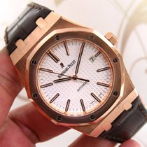 Audemars Piguet Royal Oak ref 15400-OR 18K Rose Gold Automatic...