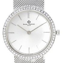 Baume & Mercier 14k White Gold Men's Watch with...