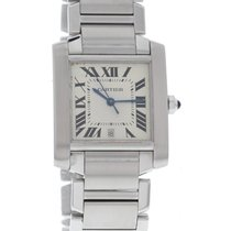 Cartier Large Cartier Tank Francaise Stainless Steel Watch 2302