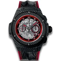 Hublot King Power Unico Carbon and Red 701.QX.0113.HR (Carbon...