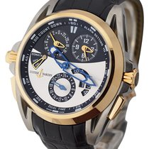 Ulysse Nardin 675-01 Sonata Streamline with Rose Gold Bezel -...
