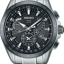 Seiko Astron SSE045J1 Uhr GPS Empfang f. Uhrzeit & Zeitzone