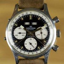 Wakmann Vintage Triple-Date Chronograph Panda