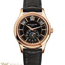 Patek Philippe Complications 40.2mm Rose Gold Black Dial...