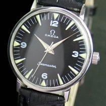Omega Seamaster Winding Black Radium Steel Unisex Watch 135.018