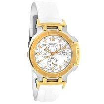 Tissot T-Race Ladies White Quartz Chronograph Watch T048.217.2...