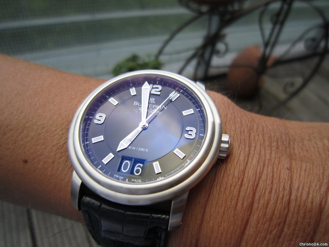 Blancpain Aqua Lung Grand Date