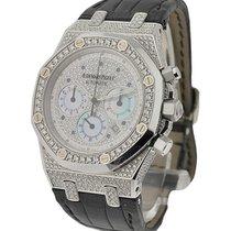 Audemars Piguet Royal Oak Chronograph with Diamond Case and Dial