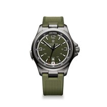 Victorinox Swiss Army Night Vision, date, torch, green dial,...