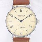诺莫斯 (Nomos) Tangente Datum Klassiker Stahl arabic cream dial Beta