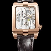 Harry Winston [NEW] Avenue Dual Time Automatic AVEATZ37RR001