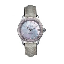 Davosa Ladies Delight Stahl Diamond Perlmutt Automatik 34mm