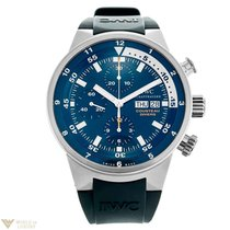 IWC Aquatimer Chronograph Cousteau Divers Stainless Steel...