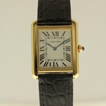 Cartier Tank Solo steel/gold from '08 complete with box...