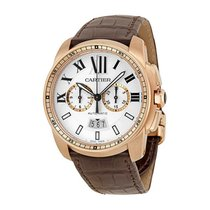 Cartier Calibre de Cartier Automatic Silver Dial Mens Watch...