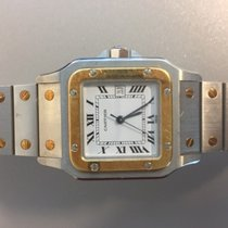 Cartier Santos (submodel) automatique or et acier