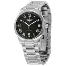Longines Master Collection Automatic Black Dial Mens Watch...