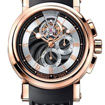 Breguet Brequet Marine 5837 18K Rose Gold Men's Watch