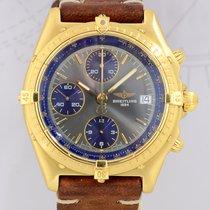 Breitling Chronomat 18K Gelbgold Automatik Chronograph grey...