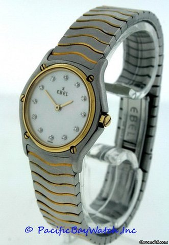 Ebel Classic Wave Ladies 181908 Pre-owned