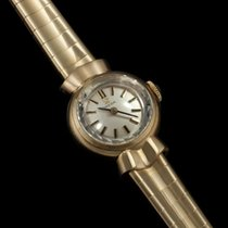 Omega 1962 Vintage Ladies Sapphette Watch - Solid 9K Gold