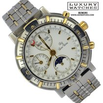 Lucien Rochat CHRONOGRAPH GMT 21.100.052 TRIPLE DATE MOONPHASE...