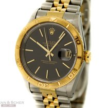 Rolex Datejust Turn-O-Graph Ref-16263 18k Yellow Gold/Stainles...
