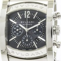 Bulgari Polished  Assioma Chronograph Steel Automatic Mens...