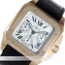 Cartier Santos 100 XL Chronograph Rosegold 2935