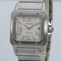 Cartier Santos Automatic Galbee 2319 Large Box Papers Serviced...
