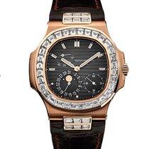 Patek Philippe Nautilus 5724R-01 Rose Gold  Baguette Diamonds