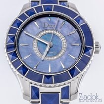 Dior Christal Mother of Pearl Dial Stainless Steel 38mm...