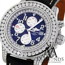 Breitling Super Avenger White A13370 15ct Diamond Watch On...