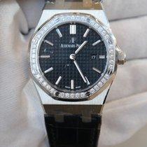 Audemars Piguet Royal Oak 33 black dial in stainless steel...