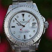 Rolex Mens Yacht-master Yachtmaster Stainless Steel Platinum...