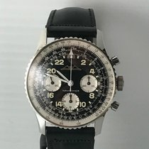 Breitling Cosmonaut Navitimer Vintage Black Dial-generic strap