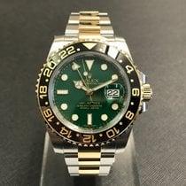 Rolex GMT-Master II Gold/Steel Green Dial