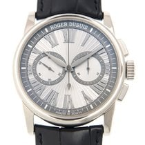 Roger Dubuis Hommage 18k Platinum Silver Automatic DBHO0567