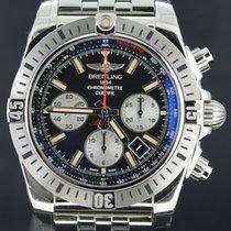 Breitling Chronomat Airborn Chronograph Steel Black Dial Full...