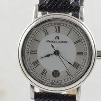 Maurice Lacroix Herren Uhr Calypso Neue Version 42mm Stahl/stahl
