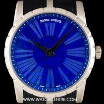Roger Dubuis 18k W/Gold Lapis Lazuli Dial Excalibur Ltd...