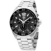 TAG Heuer Formula 1 Black Dial Stainless Steel Men's Watch...