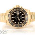 Rolex Submariner Date 116618LN Gold ungetragen Full Set 02/2016
