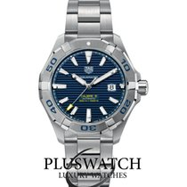 TAG Heuer Aquaracer 300M Calibro 5 43mm Automatic Blue Dial G